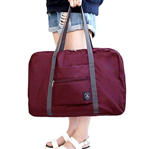 FunYoung Bolso de viaje del equipaje de mano plegable portátil superligero - (Multicolor)