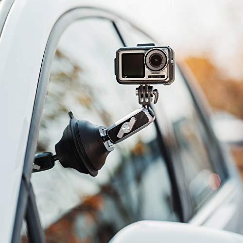 FUQUANDIAN Movimiento de cámara de Bolsillo Osmo Copa de succión del lechón Montaje for GoPro héroe 8 for dji Coche Que aspira el Disco de Vidrio 4K Video de 3 Ejes cardán Accesorios de Soporte