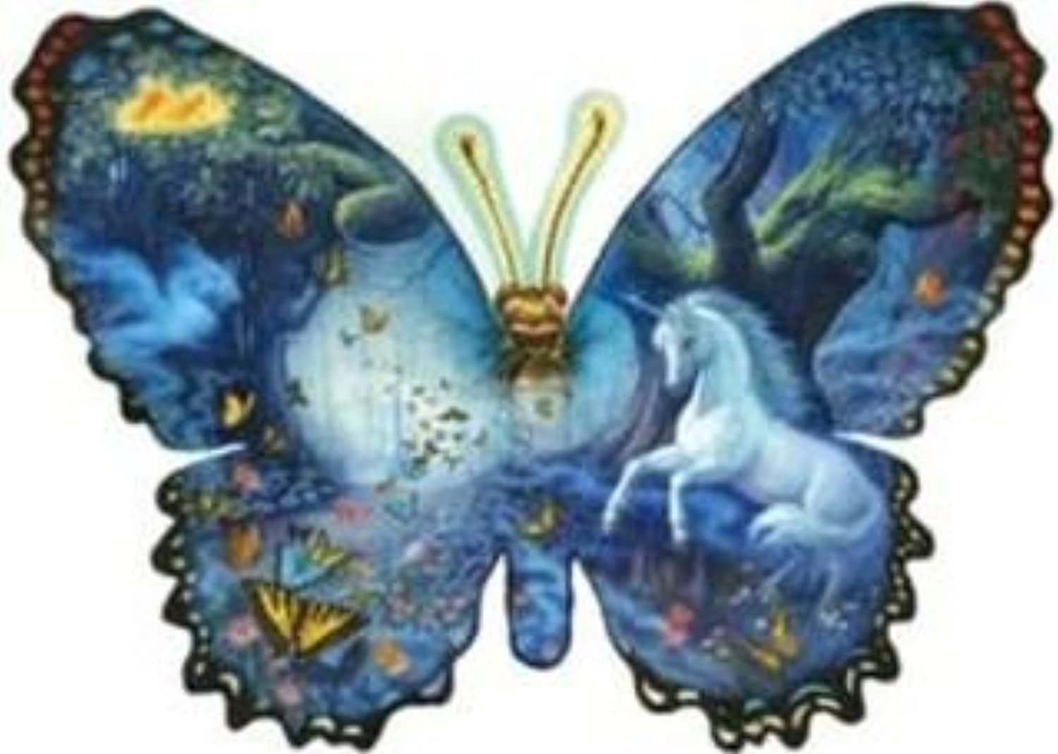 1000 Piece Fantasy Butterfly Shaped Puzzle [Toy] by SunsOut