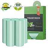 Tall Kitchen Trash Bags,13-15 Gallon Compostable Trash bags,...