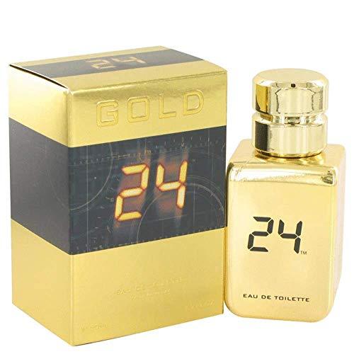 24 Gold The Fragrance by ScentStory Eau De Toilette Spray 1.7 oz / 50 ml (Men)