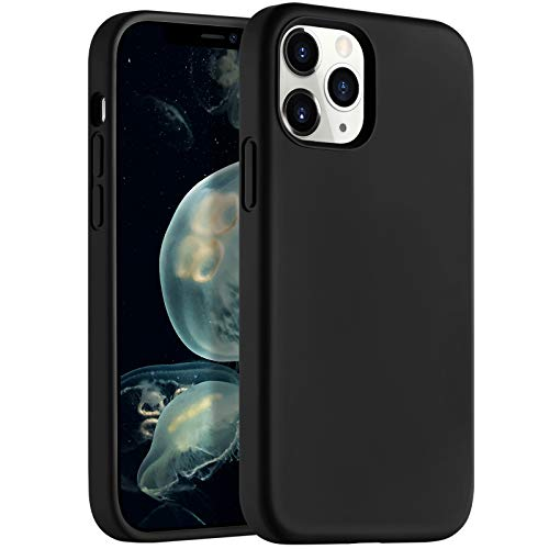 LEOMARON Compatible with iPhone 12 and iPhone 12 Pro Case 6.1 inch, Liquid Silicone Full Body Protection Cover Case with…