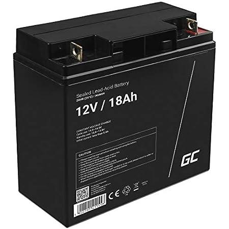 Vipow Lp20 17 Blei Akku 12v 17ah Batterie 181 X 77 X 167 Mm Wartungsfrei Luftdicht Bleiakku Gelakku Gel Akku Auto