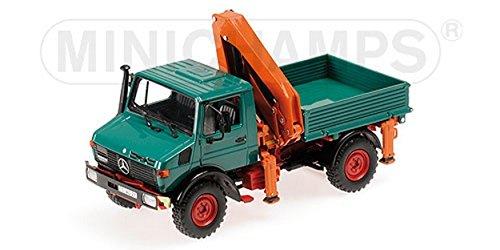 Mercedes Unimog 1300 L, grün, 0, Modellauto, Fertigmodell, Minichamps 1:43