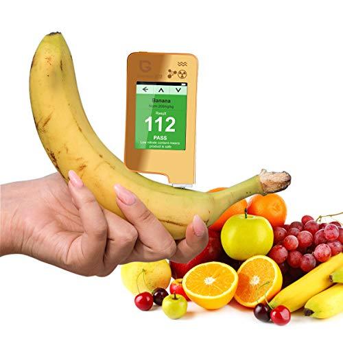 Probador de nitrato de pescado Greentest ECO 5 +, contador Geiger con detector de radiación, medidor de agua TDS PPM, probador para vegetales, frutas, carne, pescado