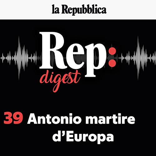 Antonio martire d'Europa audiobook cover art