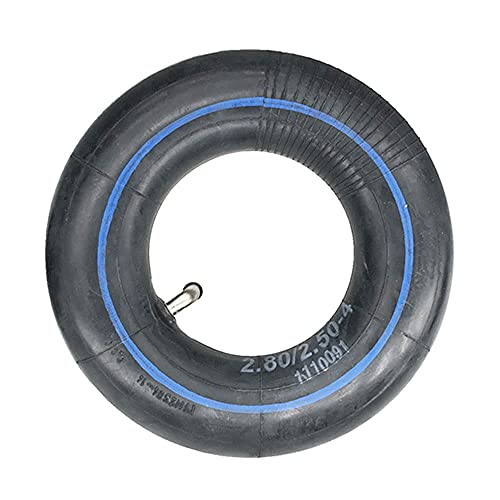 BABYCOW Neumáticos patinetes eléctricos, 2,50-4 neumáticos Antideslizantes y Resistentes al Desgaste, adecuados patinetes Ancianos 8 Pulgadas/Accesorios vehículos eléctricos 3 Ruedas, 2 cámaras Aire