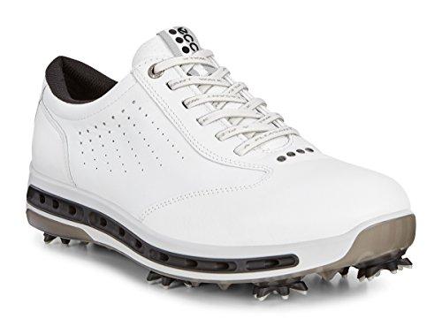 ECCO Herren Men's Golf COOL Golfschuhe, Weiß (51227WHITE/BLACK), 41 EU
