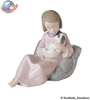 Nao Porcelain by Lladro TRUE FRIENDS ( GIRL WITH PUPPY DOG ) 2001614
