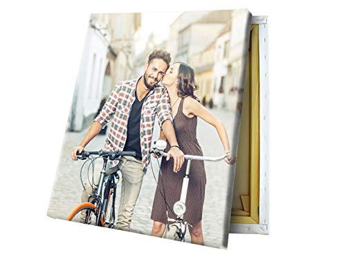 fotokasten Fotoleinwand 20x30 cm - Dein eigenes Bild auf hochwertigem Fineart Canvas - Foto auf Leinwand - auf Holzkeilrahmen gespannt