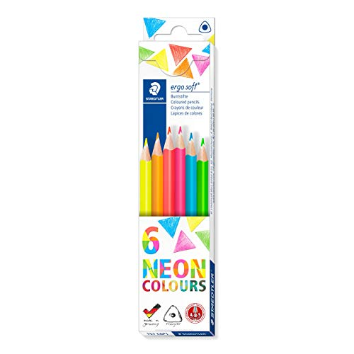 Staedtler Ergosoft 157 C6P1 Colouring Pencils