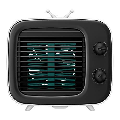YQQWN Air Cooler, Mini Portable Air Conditioner Fan Noiseless Evaporative Air Humidifier, Personal Space Air Conditioner, Mini Cooler,Office Cooler Humidifier and Purifier