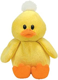 TY Beanie Baby - PUDDLES the Yellow Duck
