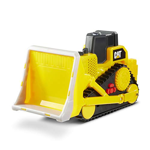 Cat Construction Tough Machines Toy Bulldozer with Lights & Sounds