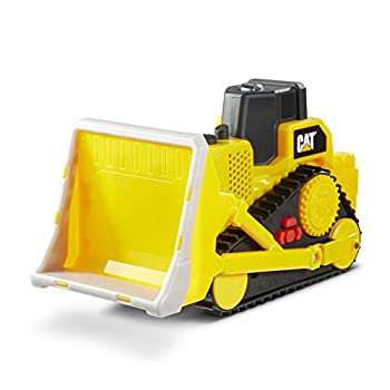 Cat Construction Tough Machines Toy Bulldozer with Lights & Sounds Yellow