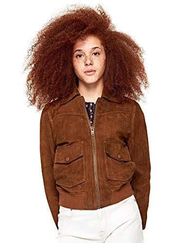 Pepe Jeans Eleanor Pl401676 Giacca, Beige (Camel 855), Large Donna