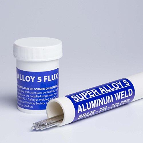 "Muggy Weld Super Alloy 5 Aluminum Brazing Kit 3/32"""