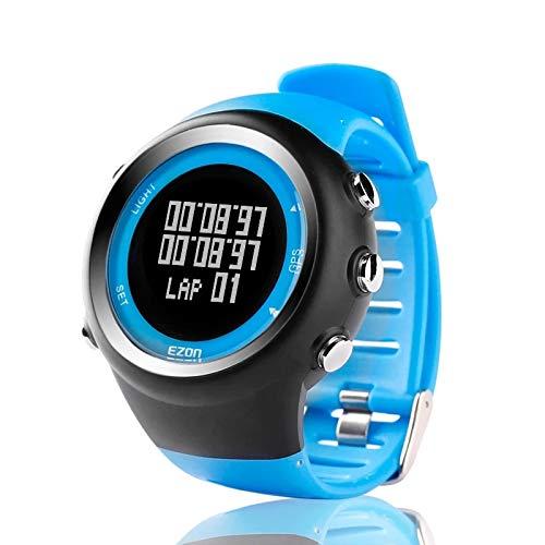 ZGZYL Reloj Deportivo Digital para Hombres Reloj Al Aire Libre En Al Aire Libre con 5Atm Contador A Prueba De Agua/De Calorías/De Cronómetro/Podómetro/Alarma/Función De Cronómetro,B
