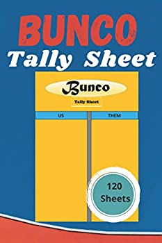 Bunco Tally Sheets  The Bunco Tally Score Sheets will take care of the score sheet dilemma bunco score pads Perfect Scorebook for Bunco Scorekeeping  Bunco Score Sheets