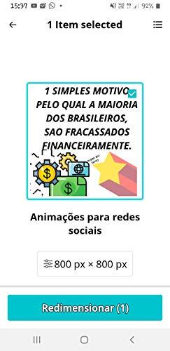 1 simples motivo pelo qual a maioria dos brasileiros, fracassados financeiramente. (Volume 1) (Portuguese Edition)