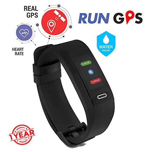GoQii Run GPS Fitness Tracker with Heart Rate Monitor & 3 Month...
