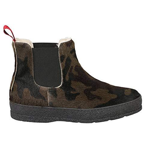 Ammann of Switzerland Ankle Boot Scuol 37 Khaki
