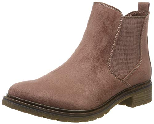MARCO TOZZI Damen 2-2-25490-23 Chelsea Boots, Pink (Old Rose Comb 559), 37 EU