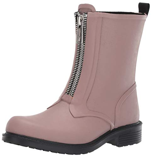 FRYE Women's Storm Zip RAIN Bootie Boot, lilac, 8 M US