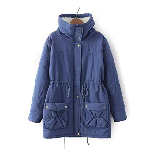 Parka dames winter lange mouwen staande kraag warm verdikte jas meisjes Coat Elegante trendy casual losse grote maten winterjas outdoorjas