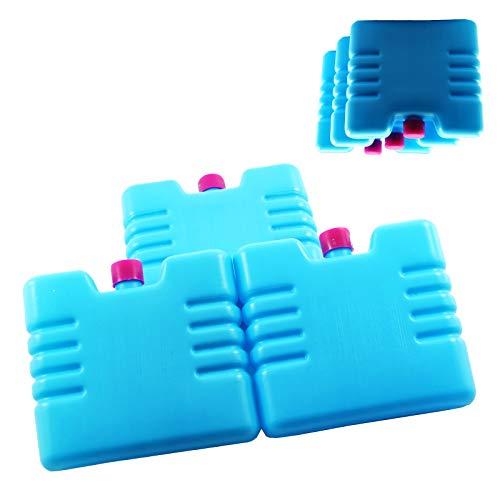 Gadget Zone UK® 3 Pc Mini Vriezer Blokken - Koelt & Houdt Voedsel Vers voor Uren - Outdoor Essentials