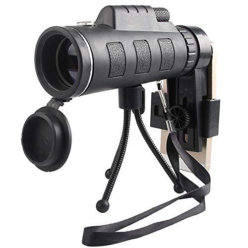 ZHENG Teleskop Monocular-Teleskop Ultra-High Power 40X60 Tragbare HD Nachtsicht wasserdicht Qualitäts-Teleskop for das Wandern der Jagd 731 for die Vogelbeobachtung, Wildtier, Jagd, Wandern, Bergsteig