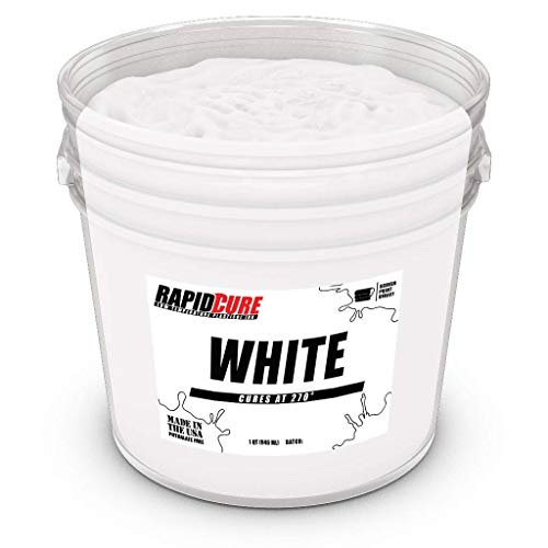 Rapid Cure White Plastisol Ink for Screen Printing Low Temperature Curing Ink by Screen Print Direct (Pint - 16 oz.)