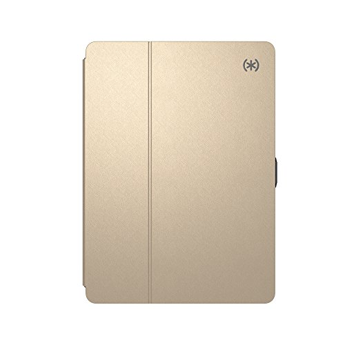 Speck Balance Folio Metallic Case for 9.7-Inch iPad Pro, Air 2 - White Gold/Graphite Grey,92112-6254