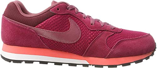 Nike MD Runner 2, Scarpe da Running Donna, Rosso (Noble Red/port-hot Punch), 36 EU