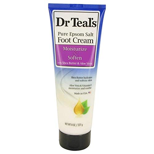 Dr Teal's Pure Epsom Salt Foot Cream by Dr Teal's Pure Epsom Salt Foot...