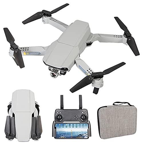 MAFANG Dron con Cámara 4K HD FPV, Cuadricóptero WiFi con Botón De Desconexión Y Atracción, G-Sensor, 3D Flip, Función De Hovering, Modo Sin Cabeza, para Niños, Adultos Y Principiantes
