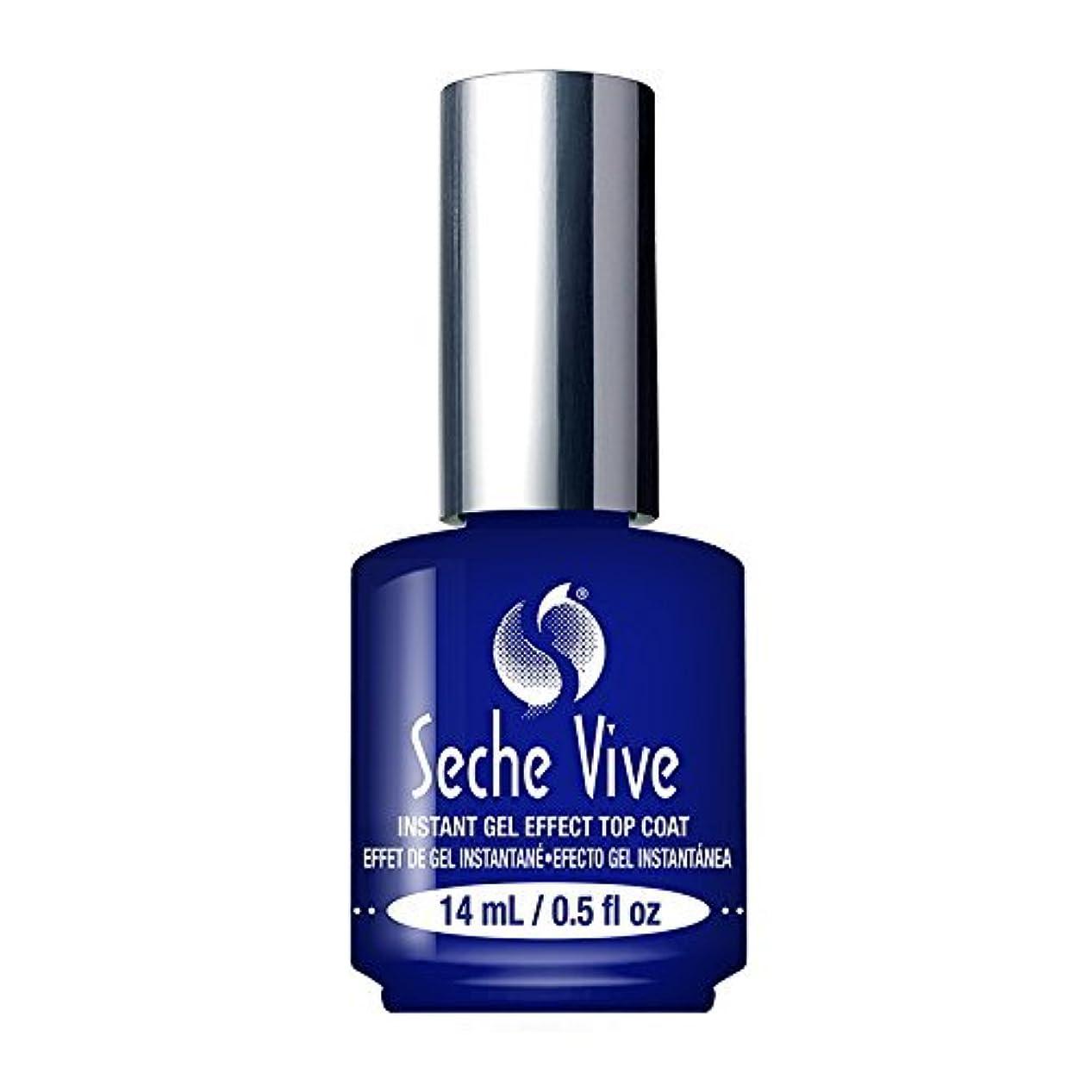忘れるかんたん提供する(6 Pack) SECHE Vive Instant Gel Effect Top Coat (並行輸入品)