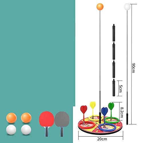 Cue Sportausrüstung Tischtennis-Trainingsgerät für Kinder gegen Myopie elastische weiche Pampelmuse-Darts 0,9m-1,1m