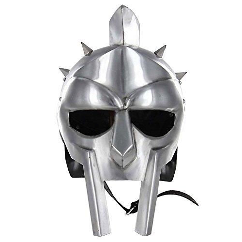 Medieval Functional Helmet of The Spaniard Maximus Roman Gladiator Armor