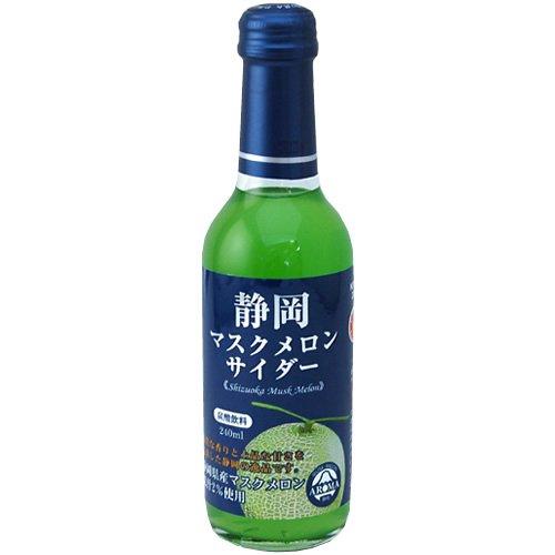 木村飲料 静岡マスクメロンサイダー 瓶 240X24