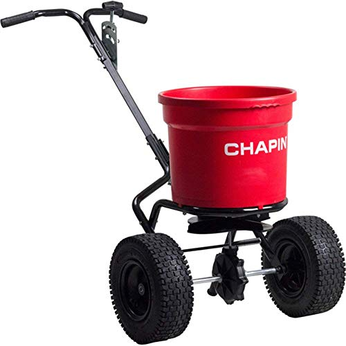 CHAPIN R E 82050C 70LB Contract Spreader, 70 lb, Red