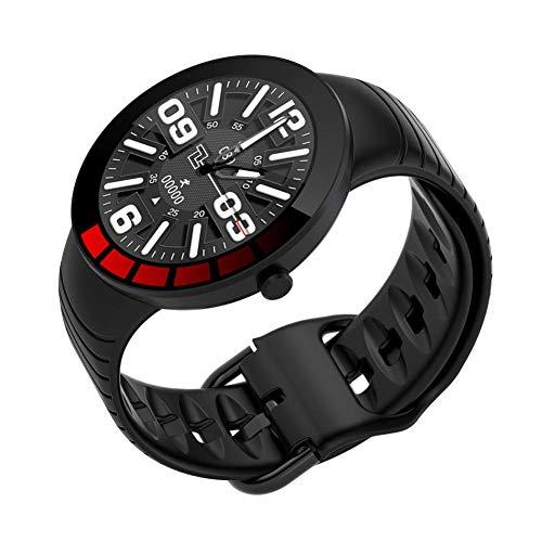 Smart Watch, Fitness Tracker IP68 Wasserdichte Männer Frauen Farbe Touchscreen Fitnessuhr Bluetooth Smartwatch Mit Herzfrequenz- / Schlafmonitor Schrittzähler Benachrichtigung Für IOS Android