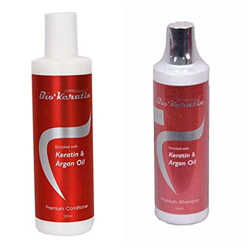 Dreamron Arganik Keratin And Argon Oil Shampoo + Conditioner (Combo) each 300 ML