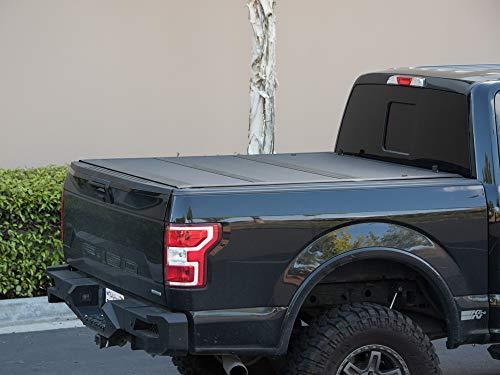 Armordillo USA 7162181 CoveRex TFX Series Tri-Fold Truck Bed Tonneau Cover Fits 2014-2018 Chevy Silverado/GMC Sierra, 6.5 Ft Bed