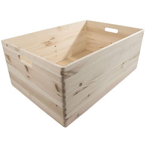 Search Box Boîte de Recherche en Bois - Rayon All, Bois Dense, Naturel, Extra Large