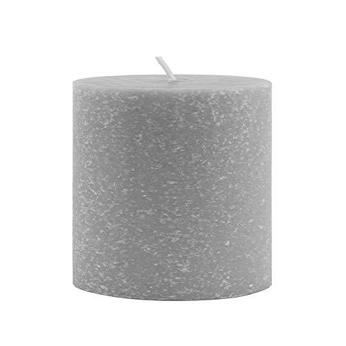 Root Timberline Pillar Candle, Platinum, 3 x 3