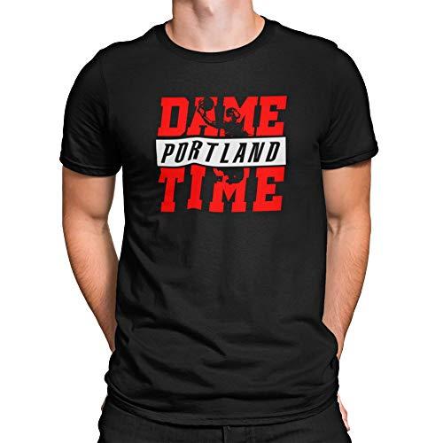 Robeni Portland Fan Lillard Shirt Dame Time Basketball Custom T-Shirt