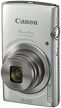 Refurb Canon PowerShot ELPH 180 20MP 720p Digital Camera