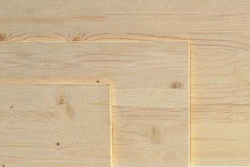 Tavola Lamellare in Abete Grezzo Squadrato 200x50 cm spessore 18 mm