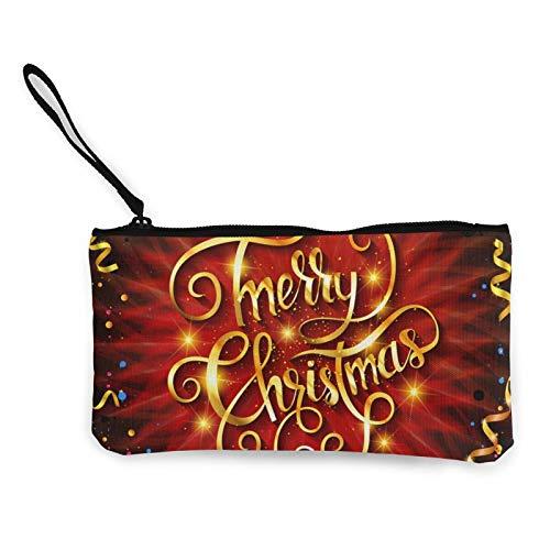 Bolsa de lona para guardar cosméticos con cremallera, bolsa de maquillaje multifunción para teléfono móvil, bolsa con asa